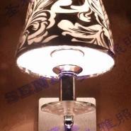 壁灯现代时尚壁灯布艺壁灯图片
