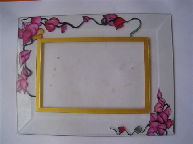 玻璃相框图片 玻璃相框样板图 玻璃相框喷绘机 深圳市鑫印...