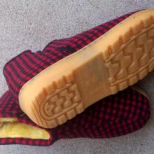 供应牛筋底手工棉鞋