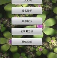 供应智能手机专业起名软件(安卓版)