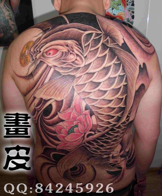青岛画皮纹身生产供应动物纹身图案