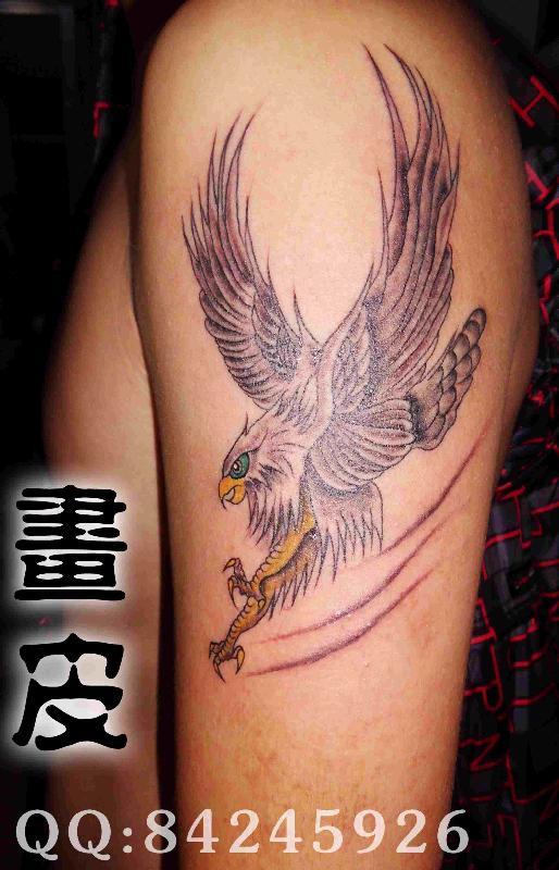 鹰纹身图片