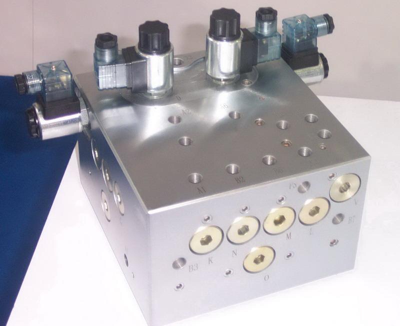 供应液压阀块设计生产图片图片