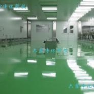 广州无尘车间彩钢板装修图片