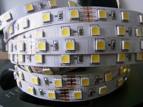 供应5050不防水灯带60灯图片