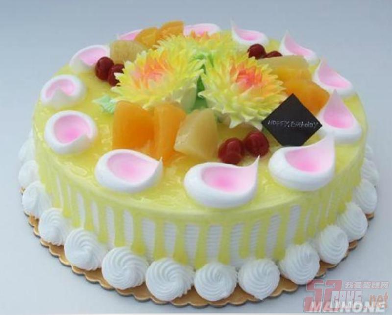 9寸生日蛋糕图片图片