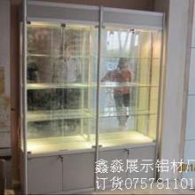 供应精品货柜展示架制作工厂钛合金铝材加工生产请选择鑫淼展览图片