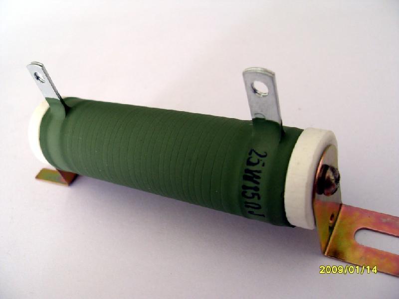 供应10W瓷管功率电阻器
