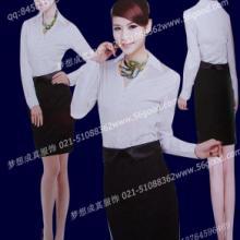 中山装 中式餐厅男女服务员服装定制
