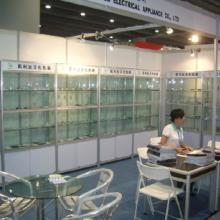 厂家供应宁波展示柜,精品货架展示架,各类样品间展示架。图片