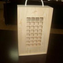 供应山东木质酒盒批发