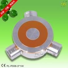 供应LED壁灯外壳配件/LED嵌灯外壳配件