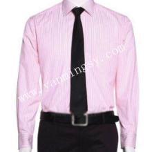 正装硬领衬衫男士商务衬衫长袖衬衫多色多宽供选图片