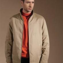 供应男式休闲夹克,夹克衫定做图片