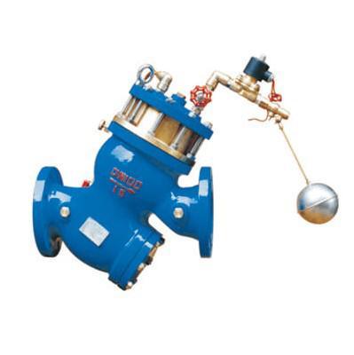 供应yq98005型过滤活塞式电动浮球阀图片