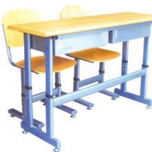 供应单人课桌椅升降课桌椅双人课桌