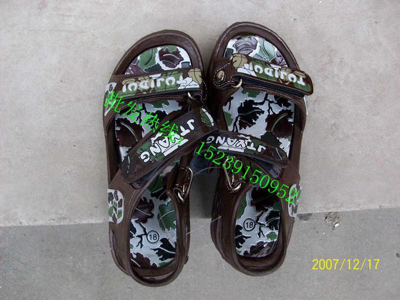 女童凉鞋凉鞋加工