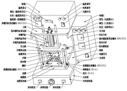 供应热风冲压机、快速冲压机