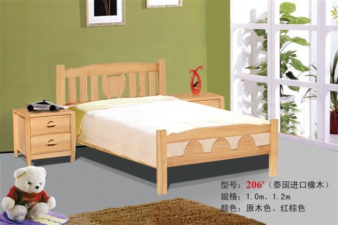 处生产供应儿童实木床