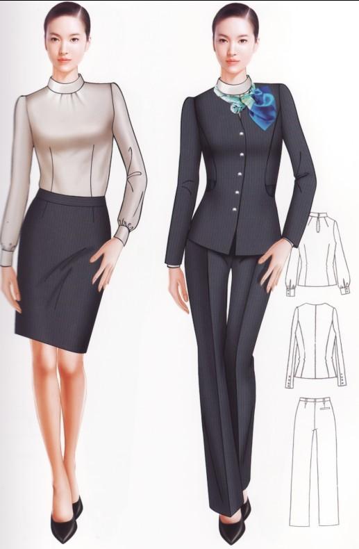 供应时尚职业制服