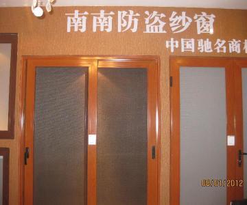 供应南南防盗纱窗欧洲全套进口的门窗生产线图片