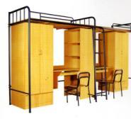 学生床单层/宿舍高低床图片