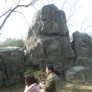 GRC塑石假山图片
