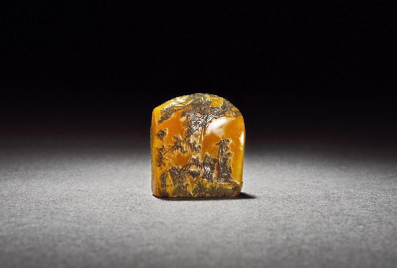 极品乌鸦皮田黄石欣赏 - 我的七彩石 - 我的七彩石