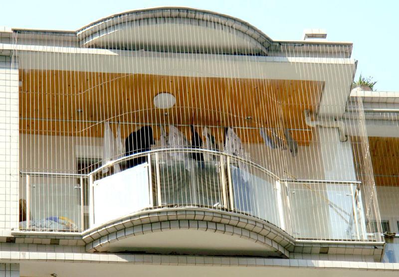 供应武汉金德尔门窗弯弧型隐型防护网