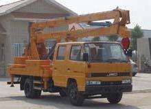 供应15米高空作业架线车,路灯维修车,12米高空电力维修车批发