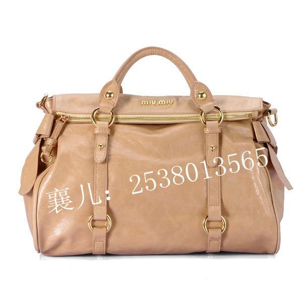 广东广州新款miumiu手提包1211浅米黄生产供应商