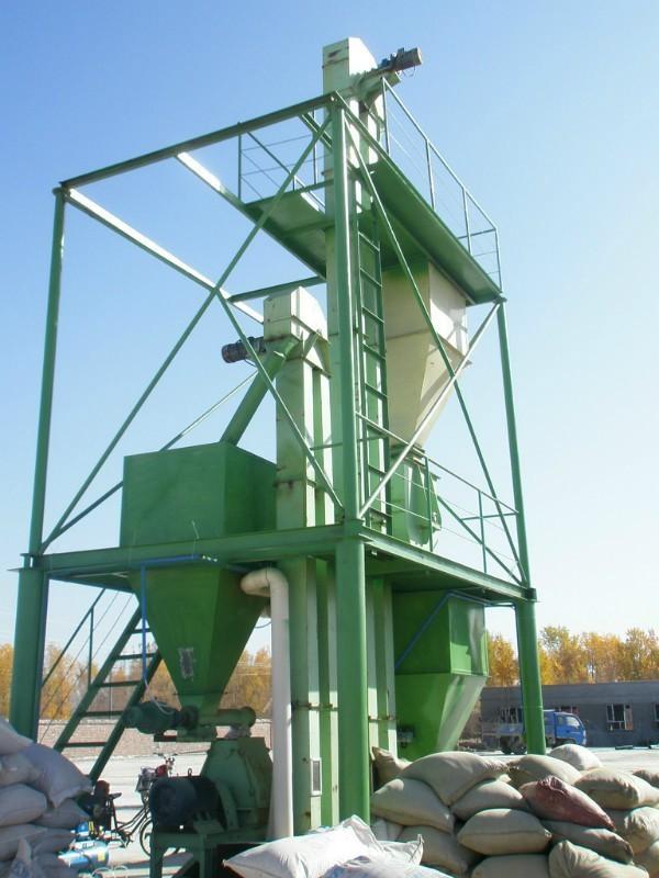 供应饲料加工机组高效节能饲料加工机组型号SLJX-1000