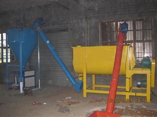 供应单机简易饲料生产线饲料混合设备
