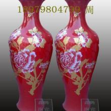 供应鑫腾陶瓷厂家中国红大花瓶