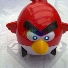 愤怒的小鸟电动玩具带音乐灯光万向轮电动愤怒小鸟玩具批发