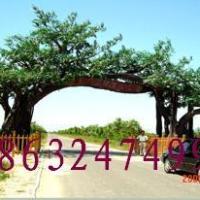 供应榕树大门价格/假树大门价格