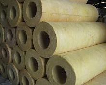 供应防火岩棉板-高密度岩棉板)管道保温岩棉保温管批发