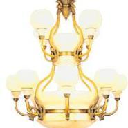 西班牙云石灯全铜灯欧式灯透光石灯图片