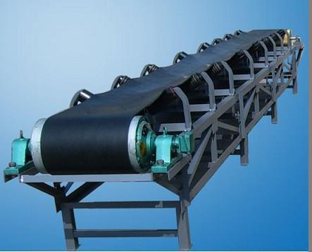 TD75型固定带式输送机 皮带输送机配件 悬挂式带式输送机河南新乡
