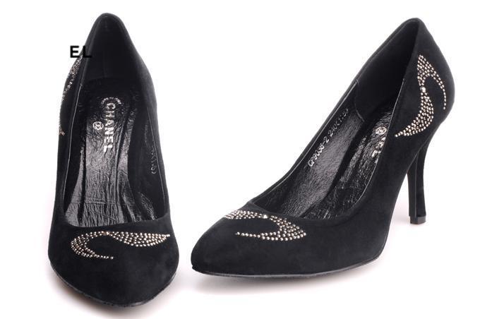牛皮单鞋图片|牛皮单鞋样板图|chanels型牛皮单鞋细