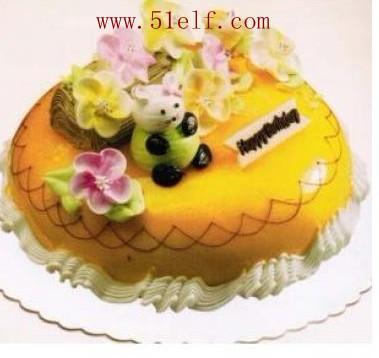 西安米旗蛋糕店特别推荐推荐小朋友蛋糕小猫的后花园