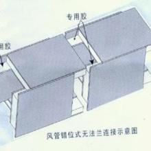 供应河北保定陕西西安武当山防排烟玻镁复合风管专业生产玻镁复合风管批发