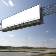 供应大连户外立柱广告牌工程广告围挡批发