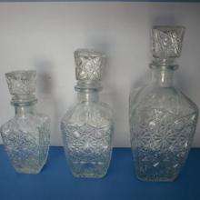 供应洋酒玻璃瓶(钻石瓶)