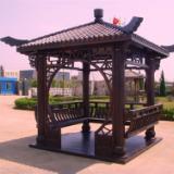 供应柳州碳化木摇椅