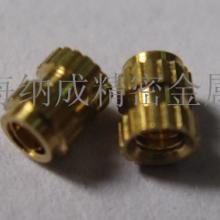 供应深圳注塑铜螺母图片