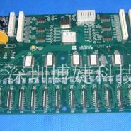 赛博128喷绘机小车板喷头板图片