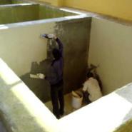 三水水池防水加工图片