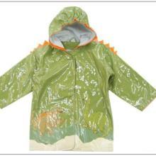 供应PU革儿童雨衣面料图片