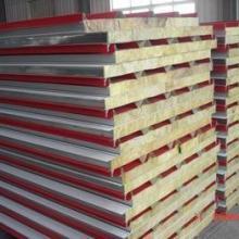 供应东胜岩棉彩钢板、东胜岩棉彩钢板价格